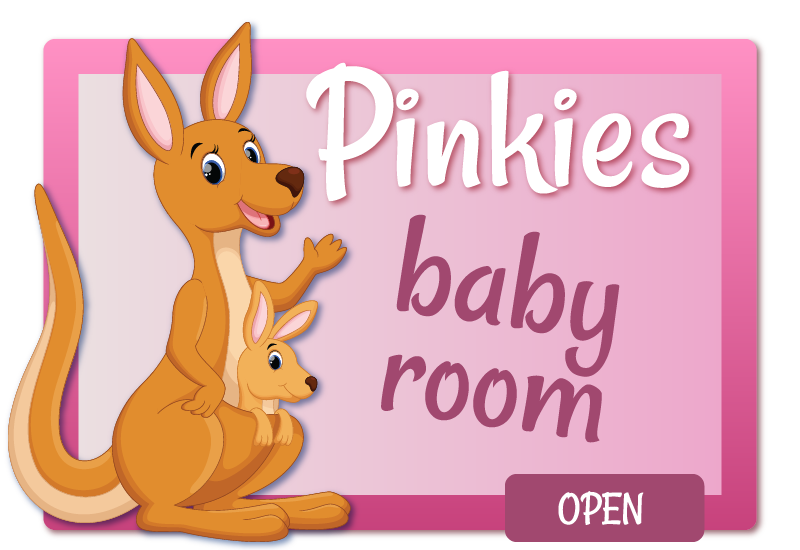 View pinkies baby room